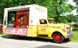 Vintage Coca-cola truck Royalty Free Stock Image
