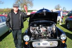 Vintage coche reunión 18 de abril de 2015 Foto de archivo libre de regalías