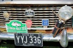 Vintage coche reunión 18 de abril de 2015 Imagen de archivo
