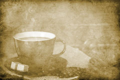 Vintage coffee background Stock Photo