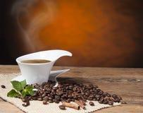 Vintage Coffee background Stock Photo