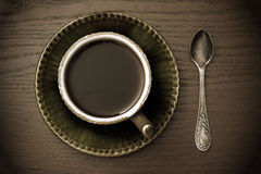 Vintage coffee cup Royalty Free Stock Images