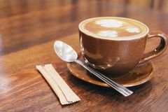 Vintage coffee cup Royalty Free Stock Photography