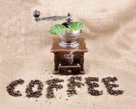 Vintage Coffee Grinder Royalty Free Stock Photos