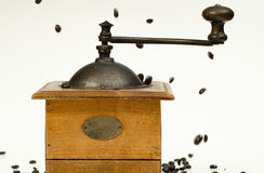Vintage Coffee Grinder Royalty Free Stock Photo