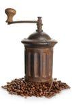 Vintage coffee grinder Stock Images