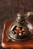 Vintage coffee grinder. Royalty Free Stock Photography