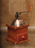 Vintage coffee grinder Stock Photo