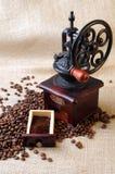 Vintage coffee grinder Stock Image