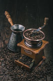 Vintage coffee grinder Stock Photography