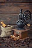 Vintage coffee grinder Royalty Free Stock Image