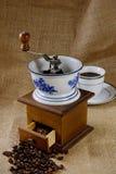 Vintage Coffee Mill Stock Photo
