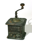 Vintage coffee grinder with path Royalty Free Stock Photography