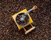 Vintage coffee grinder Stock Photos