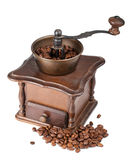 Vintage coffee mill Royalty Free Stock Photo