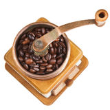 Vintage coffee mill Stock Photography