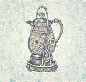 Vintage coffee pot Royalty Free Stock Photography