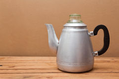 Vintage coffee pot Royalty Free Stock Image