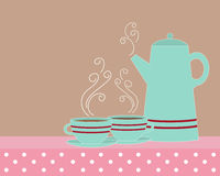 Vintage coffee pot Stock Image
