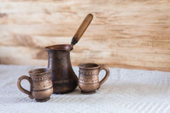 Vintage coffee turkish Stock Photography