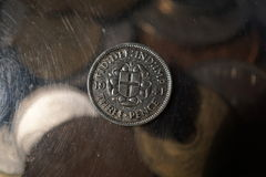 Vintage coin Royalty Free Stock Photography