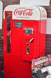 Vintage coke dispenser Stock Photo