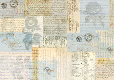 Vintage collage background Royalty Free Stock Photos