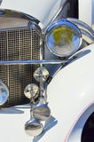 Vintage collection car - headlight details Stock Photography