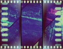 vintage coloré de grunge de film de sépia de bannière Photo libre de droits