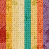 Vintage color line seamless Stock Images