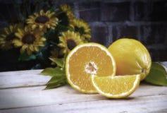 Vintage color Oranges Royalty Free Stock Photo