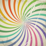 Vintage color spiral background Royalty Free Stock Images