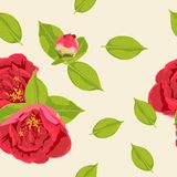 Spring summer bloom. Beautiful background blooming retro flowers. Vintage color spring summer flowers - floral background - seamless pattern for design, print Stock Photography