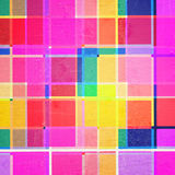 Vintage color squares Royalty Free Stock Image