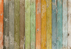 Vintage color wood planks background stock image