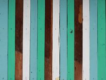 Vintage color wood wall Stock Image