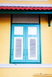Vintage color wood window Royalty Free Stock Image