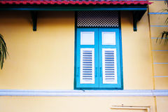 Vintage color wood window Royalty Free Stock Photography
