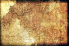 Vintage Colorado Map Stock Images