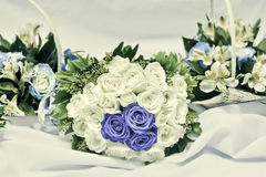 Vintage-Colored Wedding Bouquet Stock Image