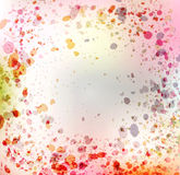 Vintage  colorful abstract background Royalty Free Stock Image