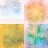 Vintage colorful backgrounds Stock Images
