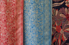 Vintage colorful fabric texture Stock Images