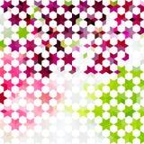 Vintage colorful minimalistic background Stock Photos