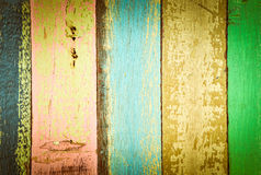 Vintage colorful wall Royalty Free Stock Image