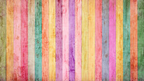 Vintage colorful wood background Stock Photo