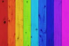 Vintage colorful wood background Royalty Free Stock Images