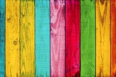 Vintage colorful wood background Stock Image