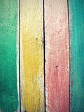 Vintage colorful wood background Royalty Free Stock Photo
