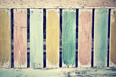 Vintage colorful wood background Royalty Free Stock Photography